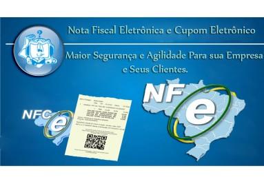 Nota Fiscal Eletrônica e Cupom Eletrônico
