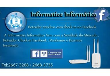 Check-in no Facebook