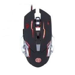 Mouse Gamer Hoopson, Rgb, 6 Botões, 2400dpi - Gt-1100