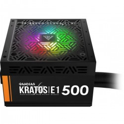 Fonte Gamdias Kratos E1-500w 80 Plus Rgb