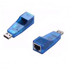 Adaptador Usb Lan Placa De Rede Externa Rj45 Ethernet 10/100