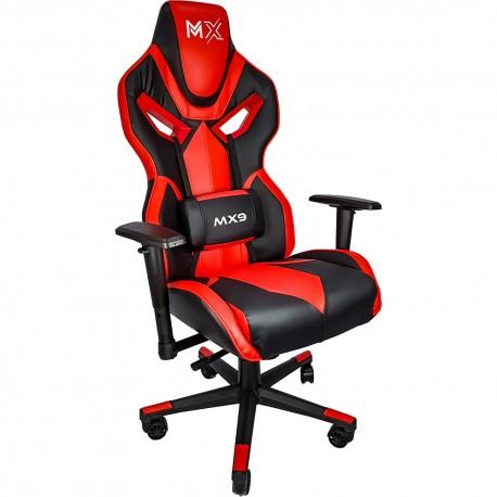 Cadeira Gamer MX9 Giratoria Preto/Vermelho MYMAX