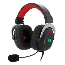 Headset Gamer Redragon Zeus RGB USB 7.1 Surround Sound Virtual H510-RGB