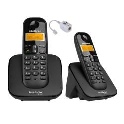 R$ 160 Em até 12x de R$ 13,33Ver opções de parcelamento Aparelho De Telefone Fixo Sem Fio Ts 3110 Preto Bina