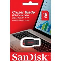 Pendrive SanDisk Cruzer Force 16GB 2.0 prateado